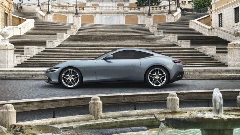 Ferrari reveals an elegant new GT, the Roma