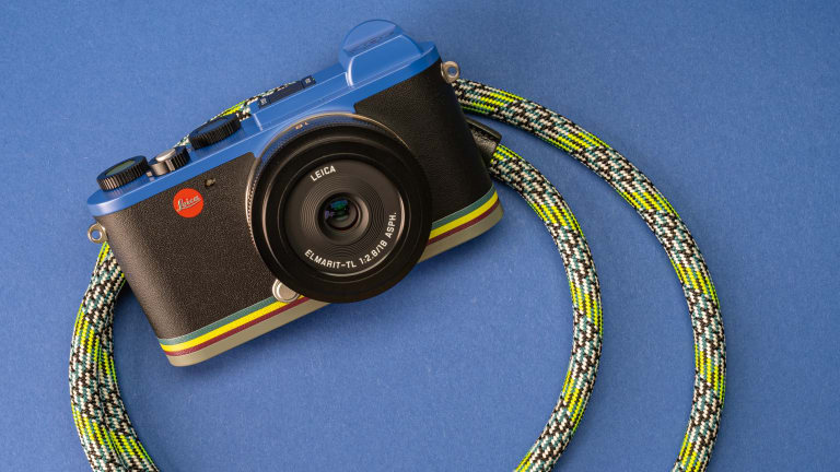 Paul Smith and Leica unveil their second limited edition camera