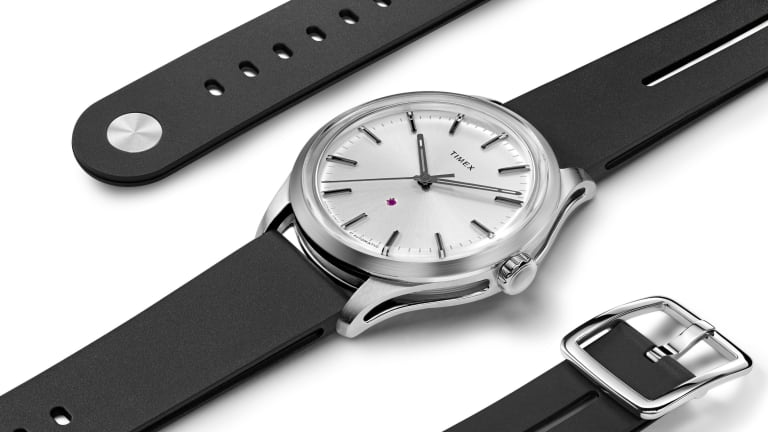 Timex's design director Giorgio Galli introduces a premium new line of timepieces