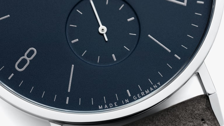 Nomos releases the Tangente in an unforgettable midnight blue