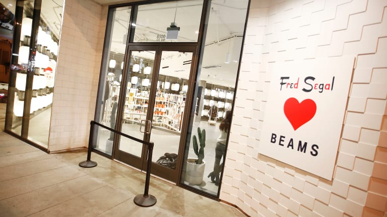 Beams Japan is making its US debut at Fred Segal