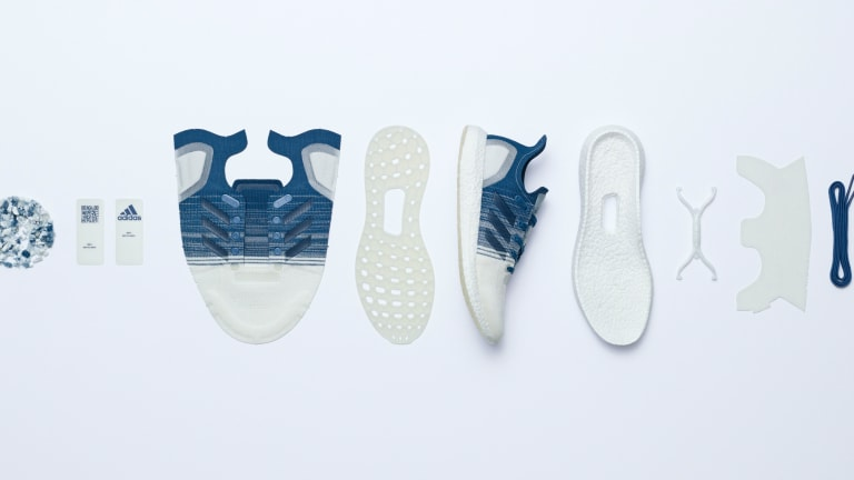 adidas continues its mission to perfect a 100% recyclable shoe running shoe