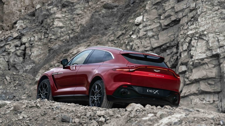 Aston Martin reveals its first-ever SUV, the DBX