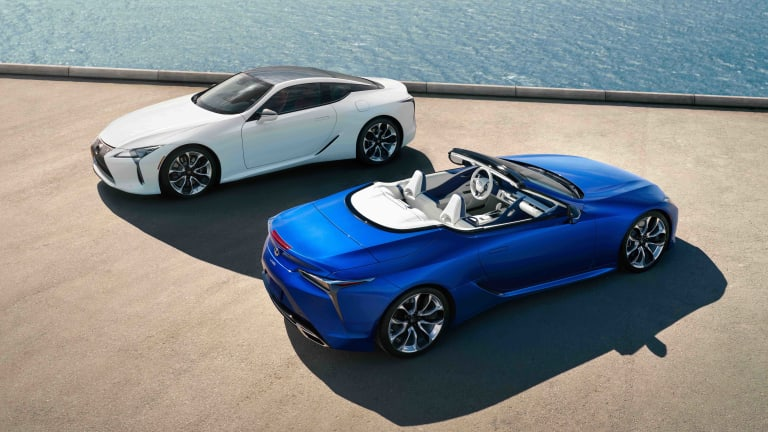 Lexus' best-looking car just became its best-looking convertible