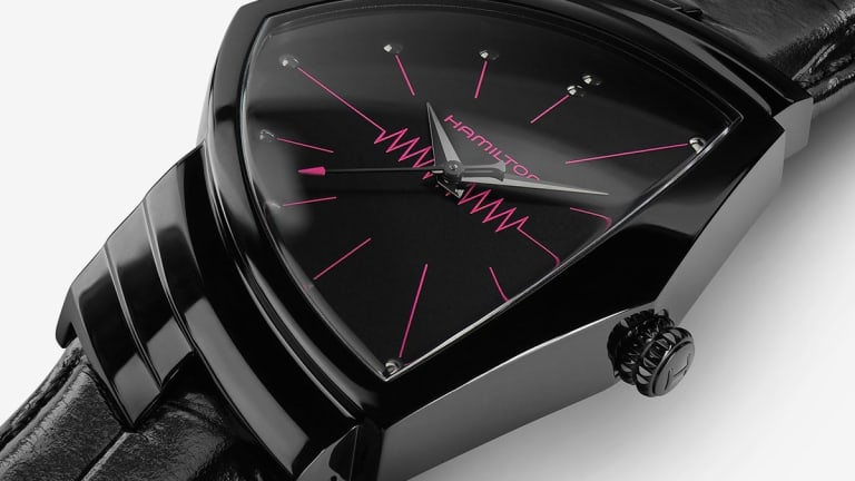 Poggy the Man and Hamilton have teamed up on a limited edition of the Hamilton Ventura