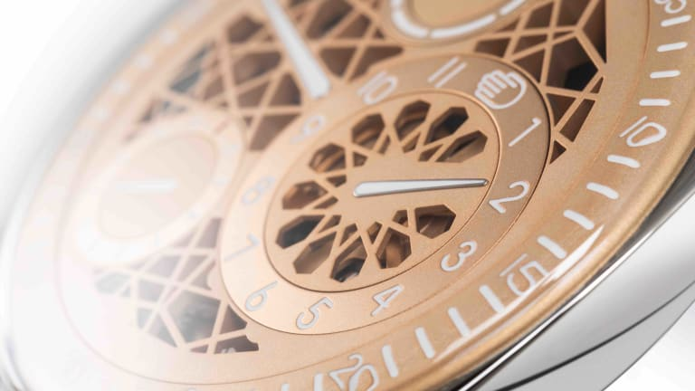 Ressence is inspired by Arabic geometric patterns for its new Type 1DXB