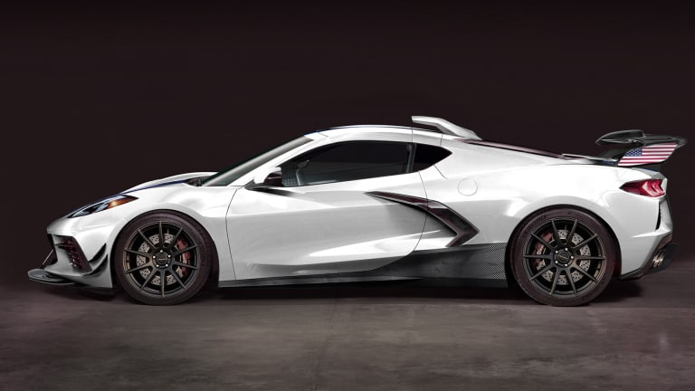 Hennessey is planning to give the upcoming C8 Corvette a 1,200 hp upgrade