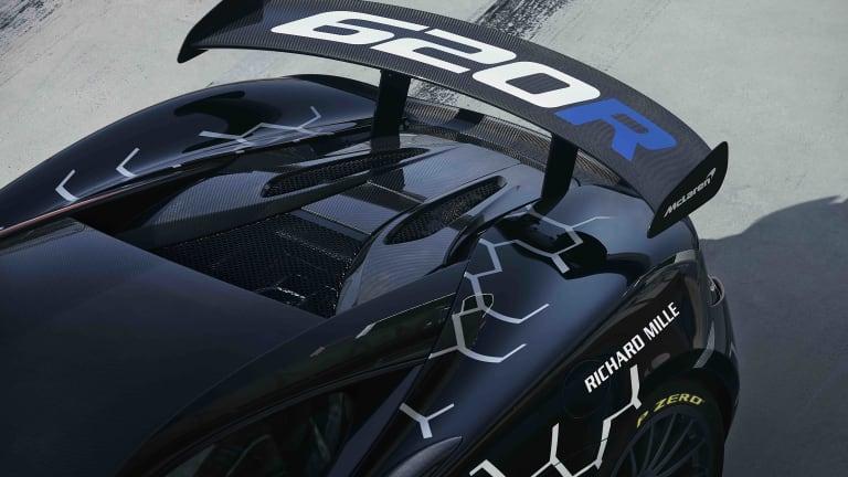 McLaren reveals the 620R, a road-legal version of the 570S GT4