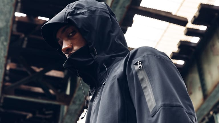 Outlier's 200th experiment takes on the rain with a highly-breathable yet water-resistant shell
