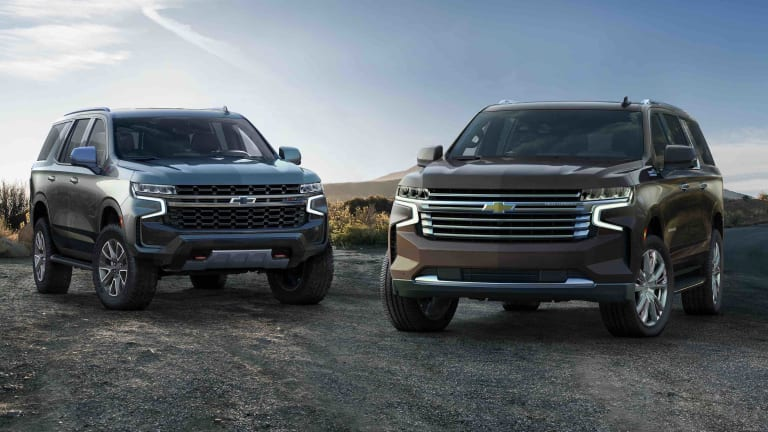 Chevrolet reveals the 2021 Tahoe and Suburban