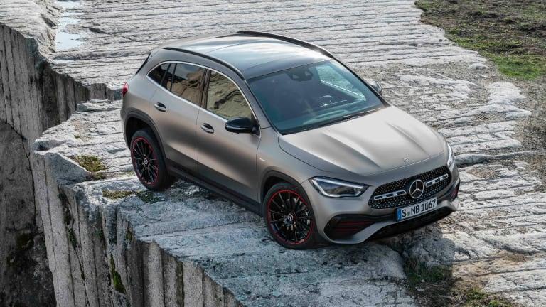 Mercedes unveils their next-generation GLA SUV