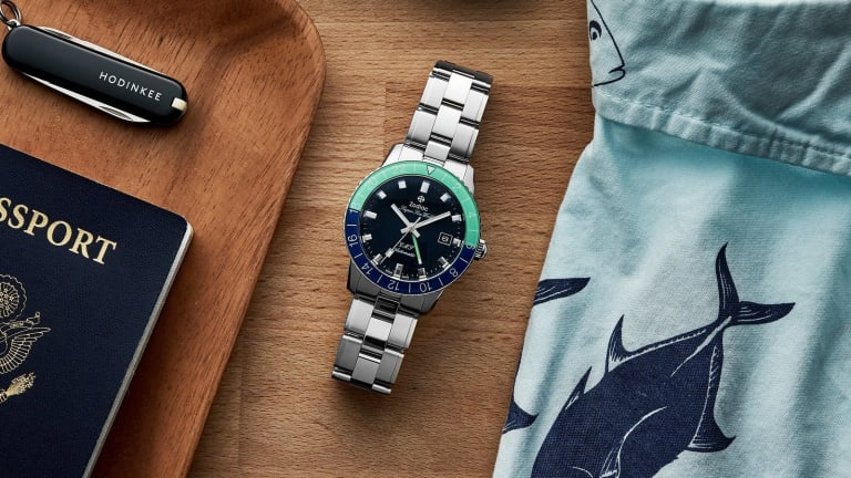 The Hodinkee Shop gets the exclusive on a vibrant new colorway of the Zodiac Super Sea Wolf GMT