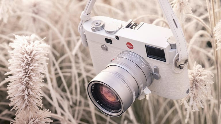 Leica wraps the M10-P in a new all-white finish for its latest limited edition