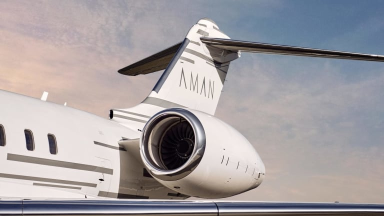 Aman has a new private jet service that can take you to any of their global destinations