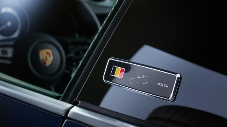 Porsche's first special edition 992 celebrates the career of Jacky Ickx