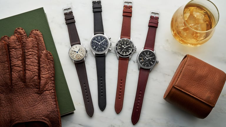 Hodinkee kicks off 2020 with a new watch strap collection