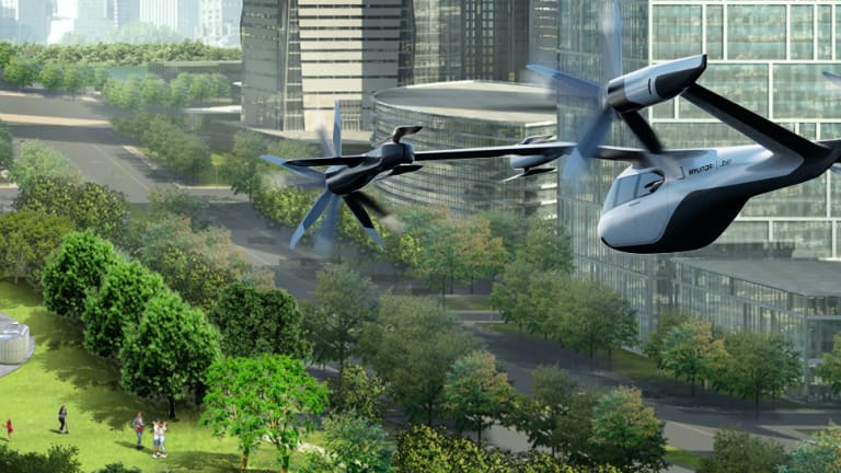 Hyundai and Uber debut the SA-1 air taxi concept