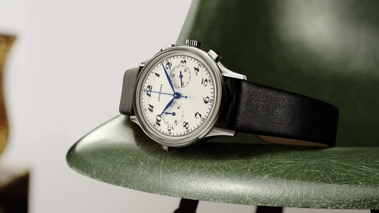 Longines captures the 1940s in its latest Heritage timepiece