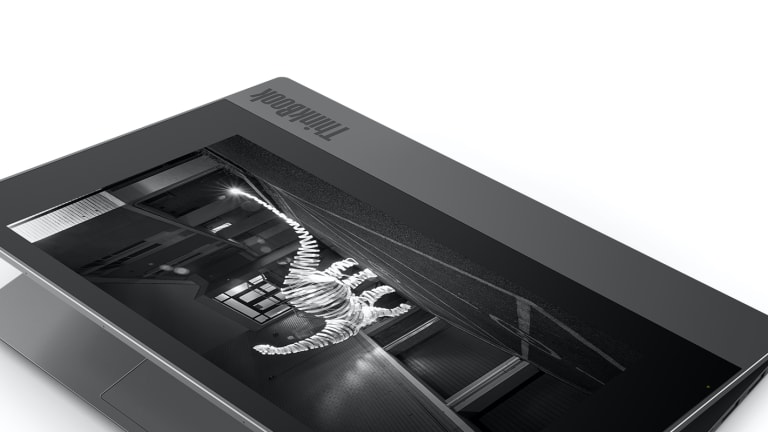 Lenovo's new ThinkBook Plus wants to up your productivity with an integrated e-ink display
