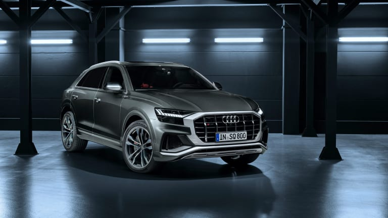 Audi's SQ8 and SQ7 are coming to the US with twin-turbo V8s
