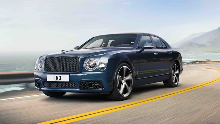 Bentley ends production of the Mulsanne with the 6.75 Edition