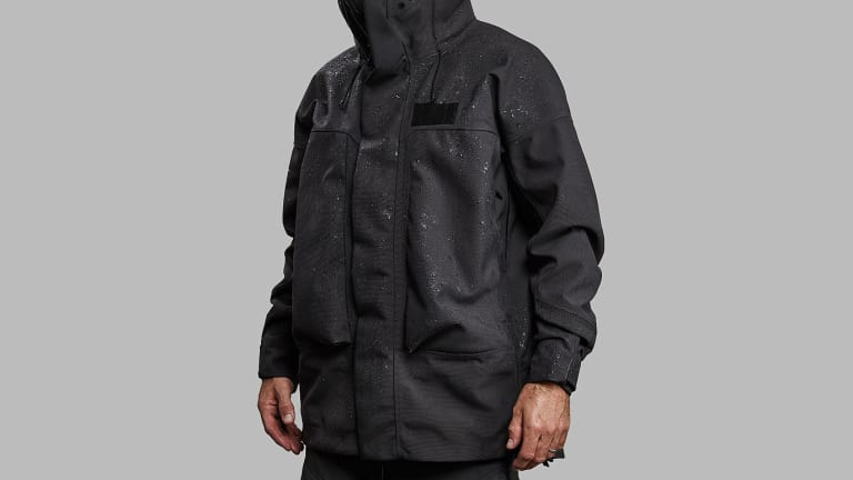 Vollebak's 100 Year Jacket is overengineered to shield you from the wettest of weather scenarios