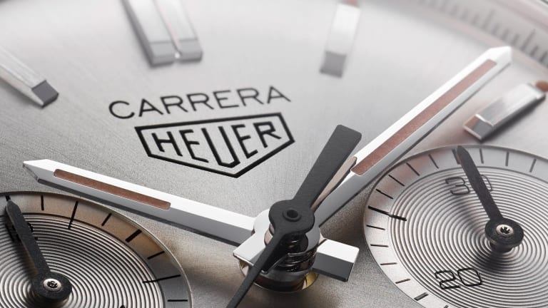 Tag Heuer celebrates its 160th anniversary with a re-edition of the 1964 Carrera
