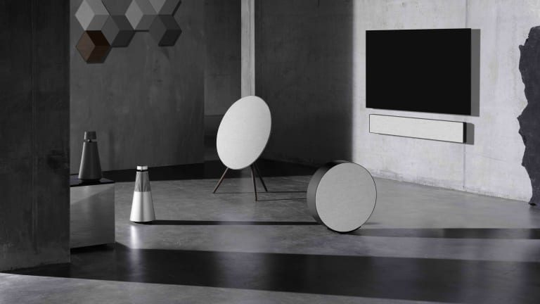 Bang & Olufsen plays with textures and new finishes with their Contrast Collection