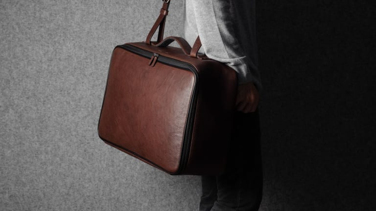 Hardgraft's Carry On Suitcase does luggage the old fashioned way