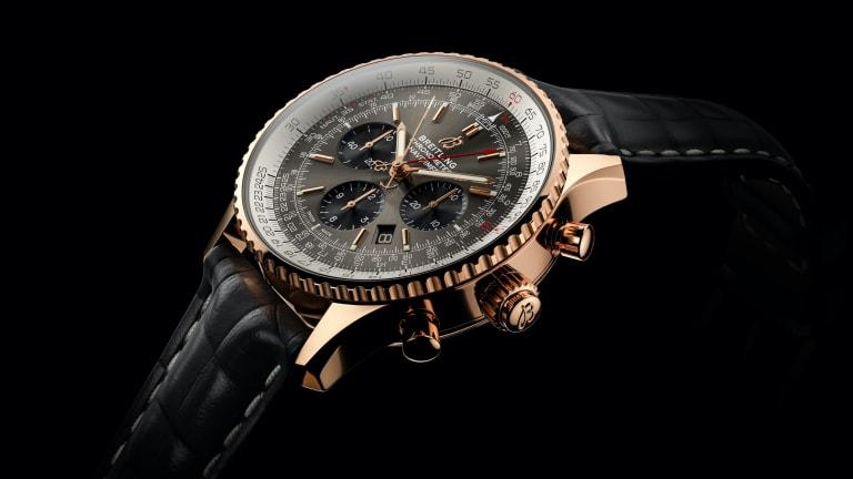 Breitling debuts its Navitimer B03 Chronograph Rattrapante 45
