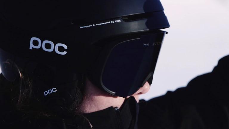 POC is bringing electrochromic lens tech to its Cornea snow goggle