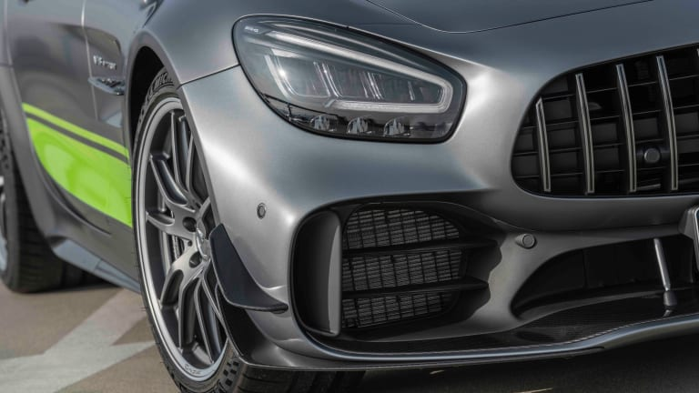 Mercedes AMG GT R PRO takes its racing tech to the streets