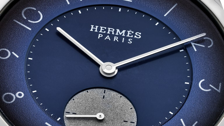Hodinkee debuts its limited edition Slim d'Hermès