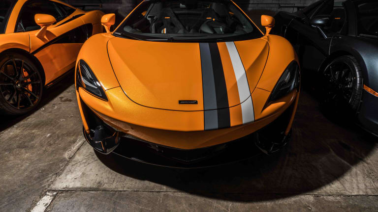 McLaren Beverly Hills and McLaren Special Operations debut their 'Racing Through the Ages' collection
