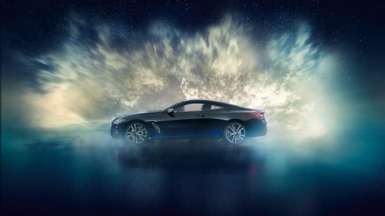 BMW Individual accents the M850i Night Sky with real meteorite