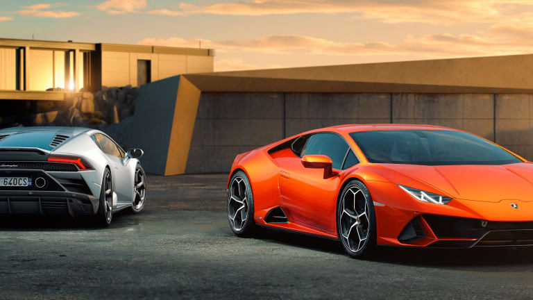 The Lamborghini Huracán EVO lands with new aero upgrades and Performante-level power