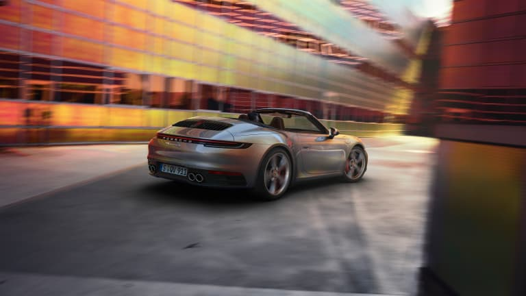 Porsche reveals the 2020 911 Cabriolet