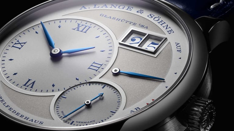 A. Lange & Söhne's Lange 1 celebrates its 25th anniversary