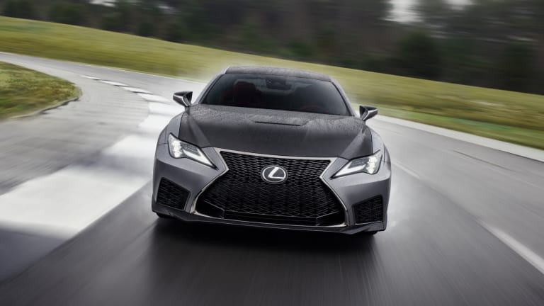 The Lexus RC F gets a new Track Edition for the 2020 model year