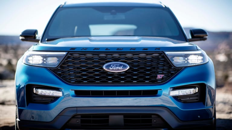 Ford adds a 400-hp ST model to the 2020 Explorer range