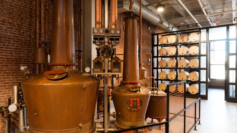 Michter's second distillery opens with its first tasting room