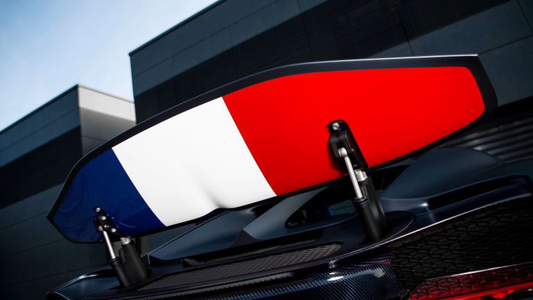 Bugatti celebrates its French roots with a new special edition
