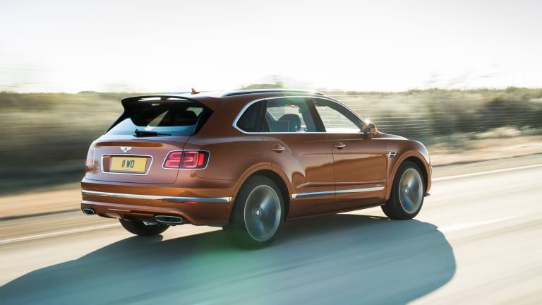 Bentley reveals the world's fastest production SUV, the Bentayga Speed