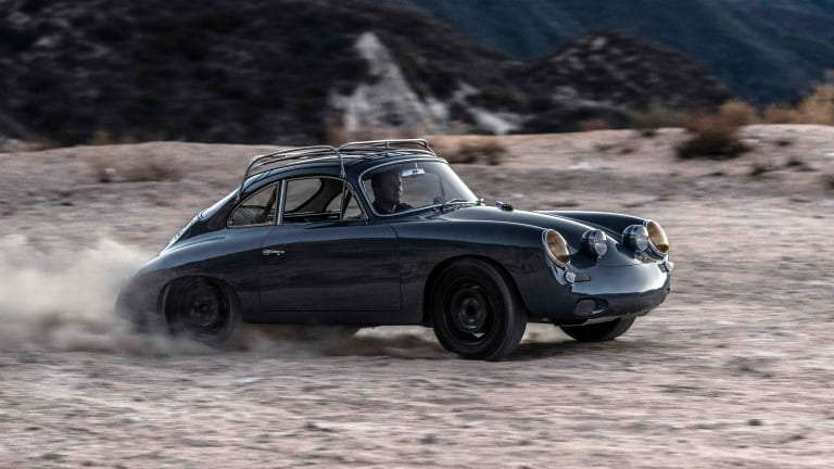 Emory introduces the 'Allrad,' an all-wheel-drive Porsche 356