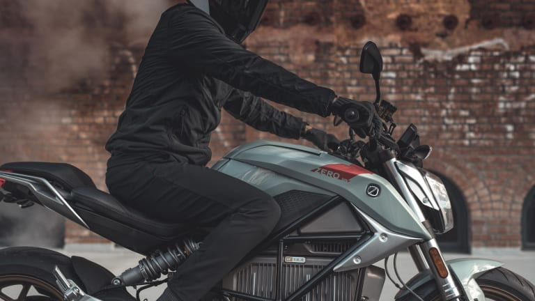 Zero unveils its new electric streetfighter, the SR/F