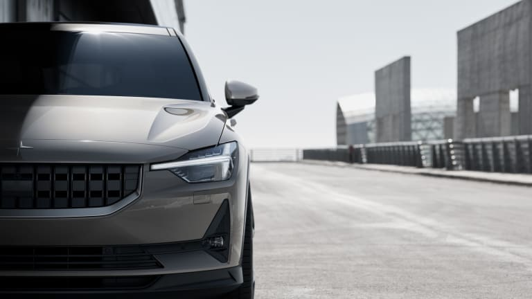 Polestar reveals its first fully electric model, the Polestar 2