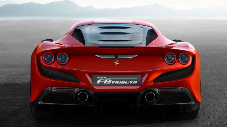 Ferrari reveals its 488 GTB replacement, the F8 Tributo