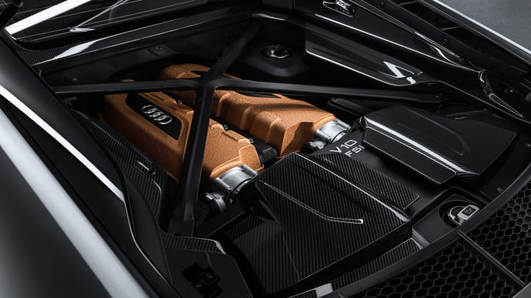 Audi celebrates ten years of the V10 with the R8 V10 Decennium