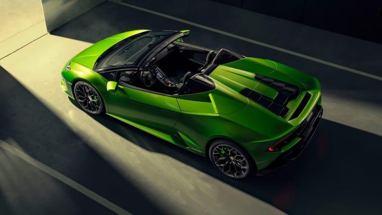 Lamborghini unveils the Huracán EVO Spyder