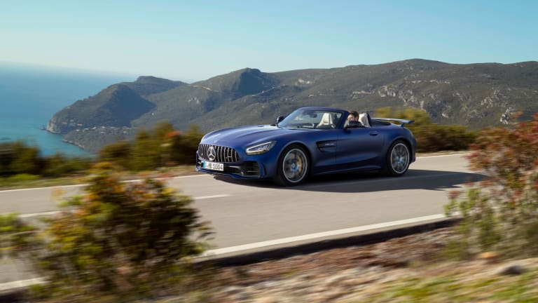 AMG's GT-R gets a new roadster variant